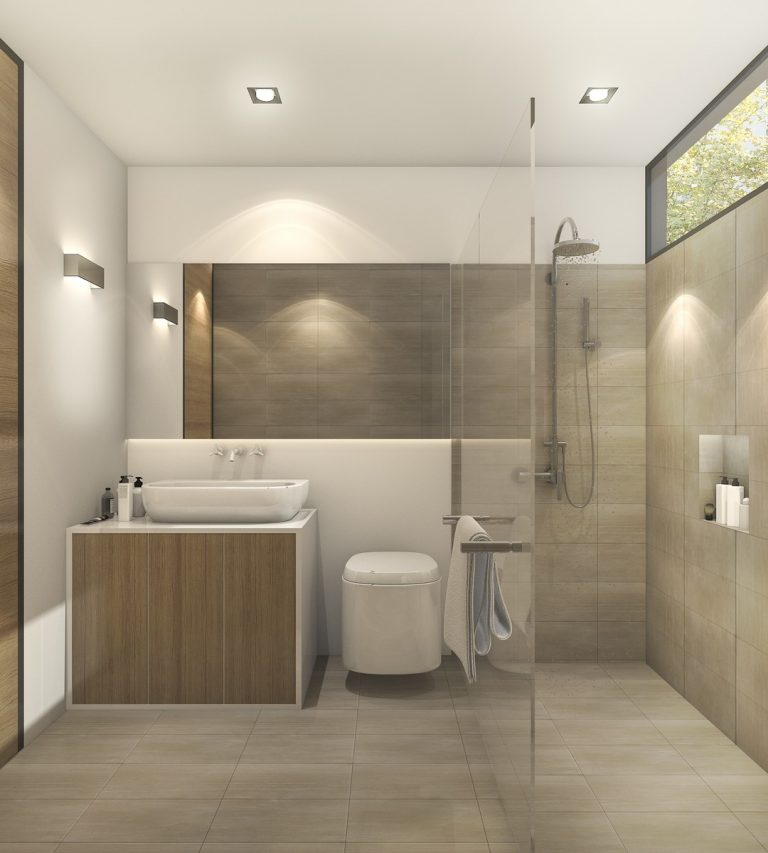 Simple ways to make a small bathroom appear bigger