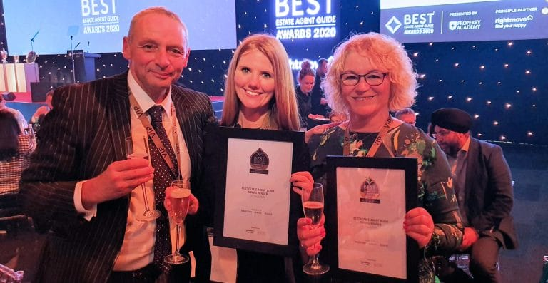 Winners of the Best Estate Agent Guide 2020